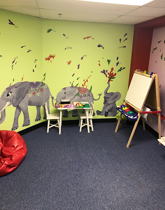 Debbie L. Conley - Art Therapy Room